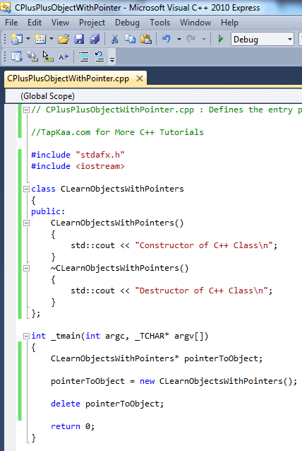 C++ Class Object With Pointer