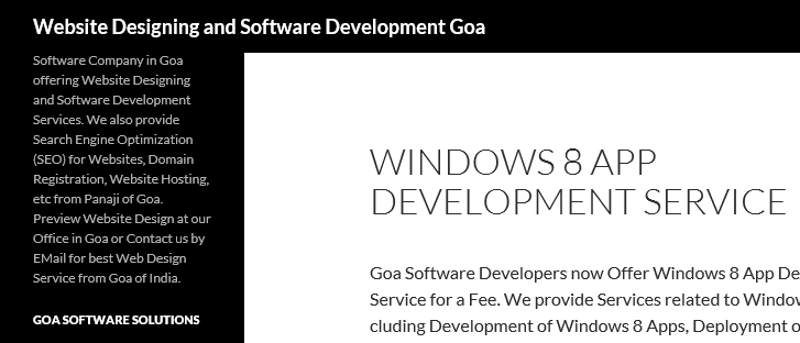 Windows 8 App Development Service